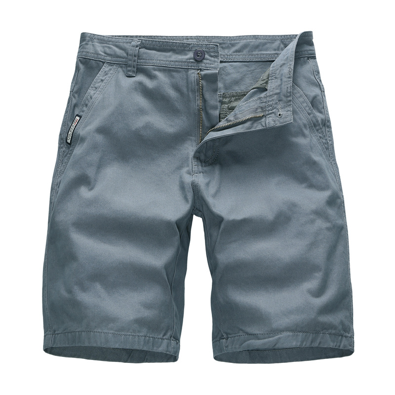 Summer Casual Shorts Cargo Shorts Men Sweat Short Pants Cotton Long Shorts Office Wear Plus Size