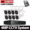 HKIXDISTE 8CH 4 0MP AHD DVR CCTV System 4MP IR Night Vision Indoor Outdoor Camera Home