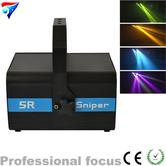 Free Shipping 5R Sniper 200W Projector Lamp DMX Scanner Beam Gobo Laser Effect Light for dj light factory price hot sales 2pcs lot 5r sniper stage light 5r lamp with zoom function scanner laser beam effect led stage lighting