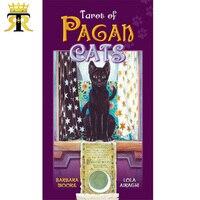100% Original English version Tarot of Pagan Cats board game tarot cards 78pcs