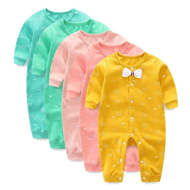 324d8e3e5223 Newborn Jumpsuit Baby Rompers Boy Clothes Autumn long sleeve Baby ...