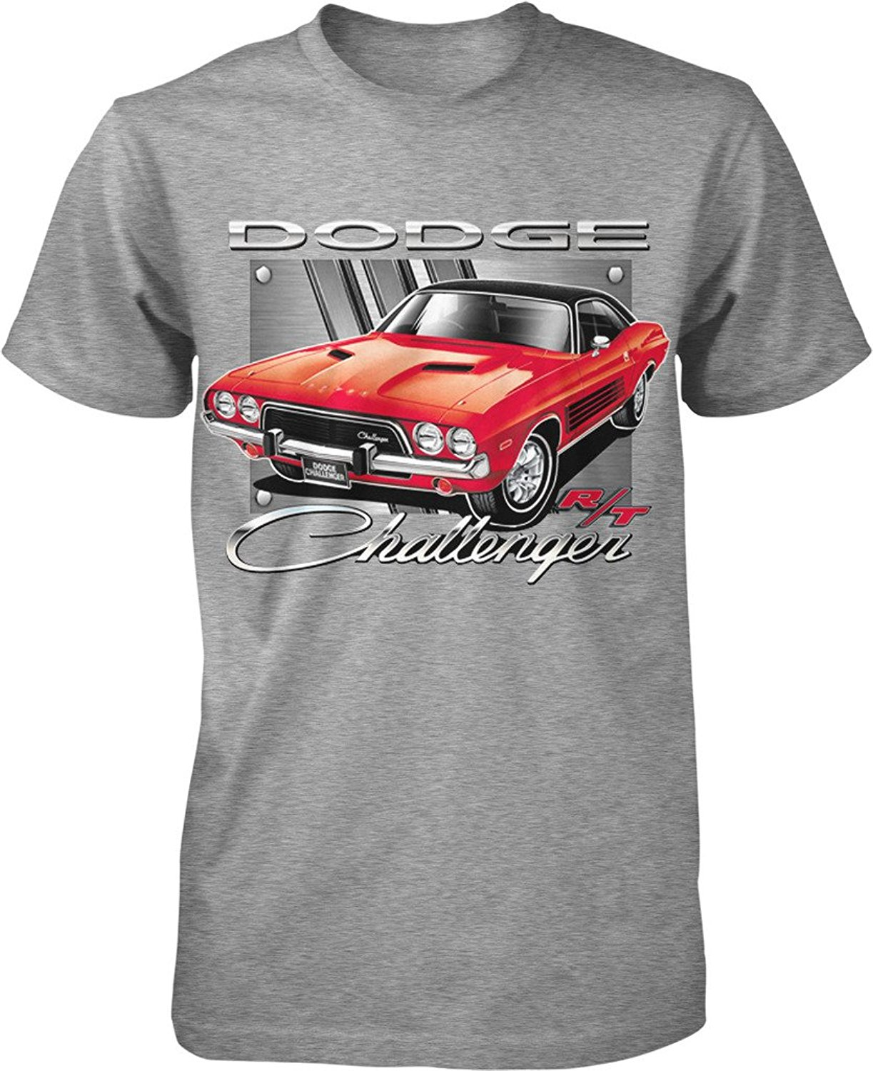 2018 Short Sleeve Cotton T Shirts Man Clothing Dodge Challenger R/T, American Muscle Men ...