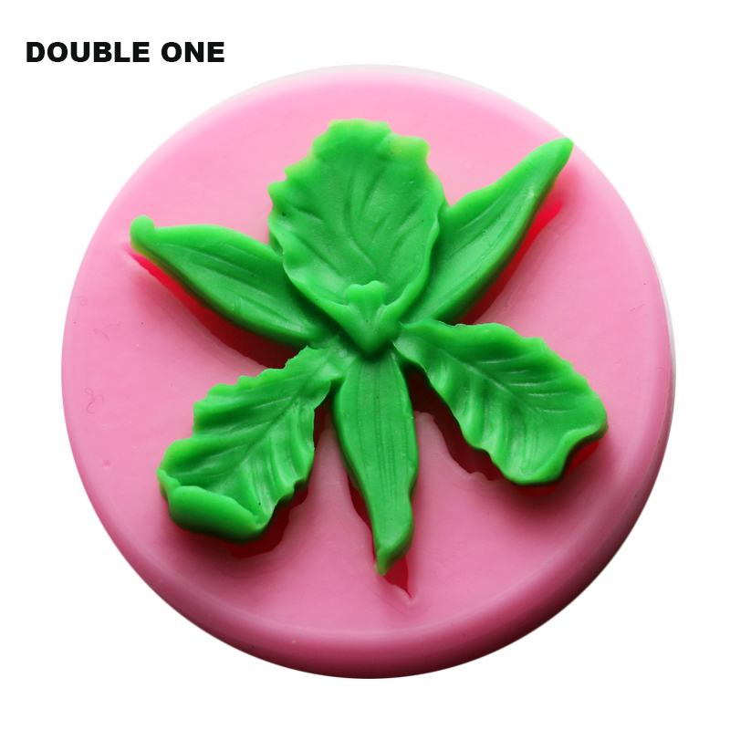 DIY Silicone Jewelry making Molds Leaf Flower Shaped for Candy Resin Clay Crafts Moulds ...