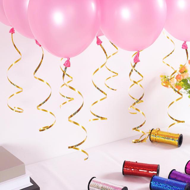Glittering Balloon's Ribbon