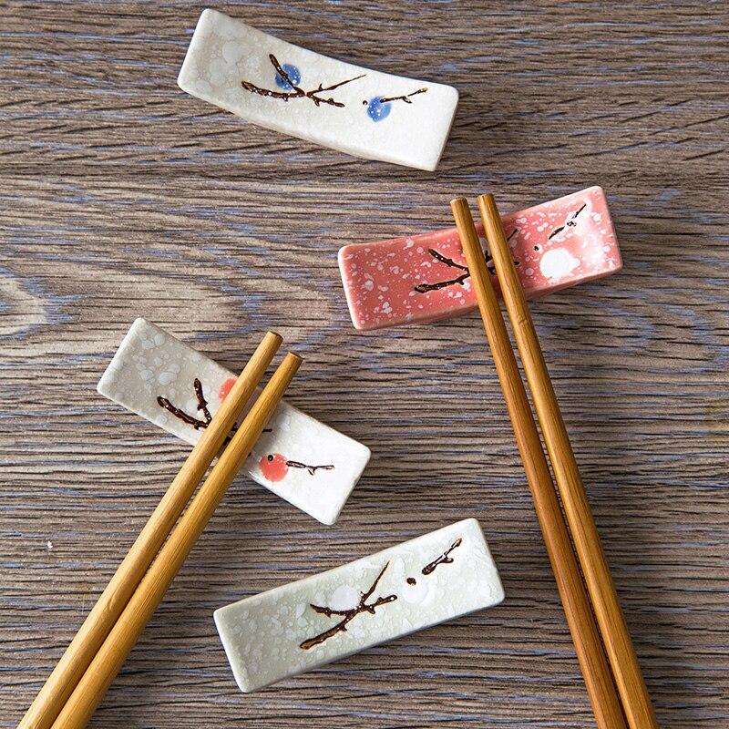US $1.88 |Japanese chalk chopsticks ceramic chopsticks care creative  kitchen supplies chopsticks drag chopsticks rack-in Storage Holders & Racks  from ...