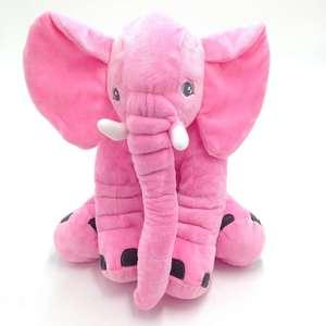 Image 3 - Cammitever 코끼리 쿠션 플러시 베개 동물 완구 귀여운 코끼리 인형 장난감 어린이 소녀 키즈 홈 베개 소파