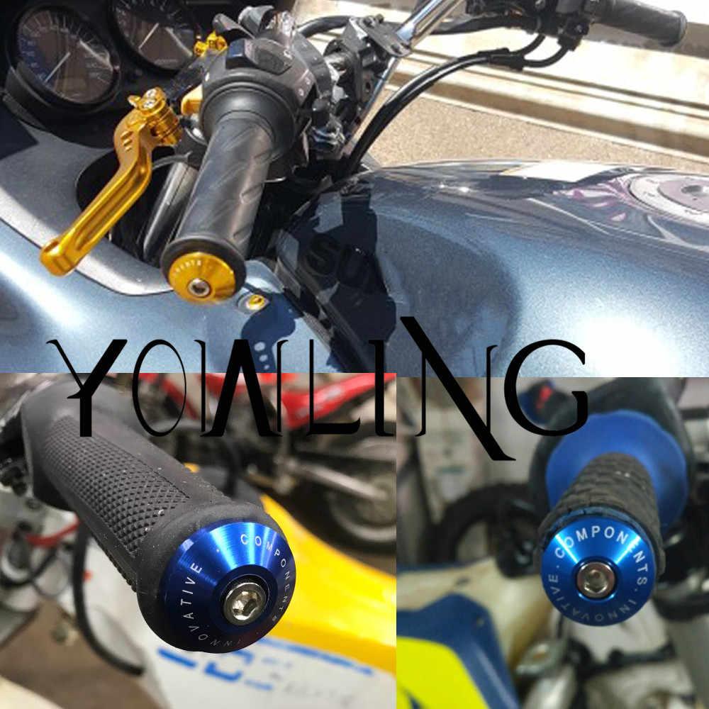7/8 ''22 รถจักรยานยนต์เบรค cap motocross จับบาร์ grips สิ้นสุดสำหรับ HONDA XR CR CRF CRM 50F 230F 230L 230 M 250L 250 M 250X