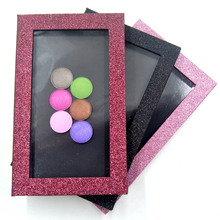Hot Sale Fashion DIY Refill Empty Magnetic Eyeshadow Palette Concealer Pans With Blush Powder Lipstick Palette Pink Shiny Gift недорого