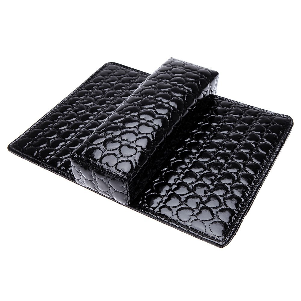 New Soft Hand Cushion Pillow And Pad Rest Nail Art Arm Rest Holder Manicure Nail Art Accessories PU Leather Rectangle Leather