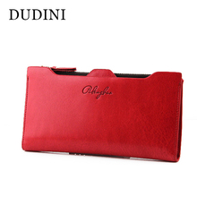 New Winter Faux Leather Women Wallets 9 Colors Fashion Zipper Long Wallet Clutch Ladies Casual Slim Change Purses Card Holder