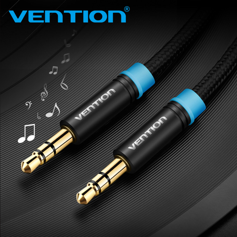 Vention 3.5mm Audio Cable 3.5 mm Aux Cable 3.5mm Jack Male Male Audio Cable For iPhone Car Stereo Headset Speaker Computer MP3/4 3 5mm male to female stereo jack headphone extension cable 3ft 6ft 16ft aux audio wired cord lead for computer mobile phones