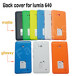 Back Cover Case for Microsoft Lumia 640, Genuine Housing, Battery Cover  Replacement for Nokia 640, with side button