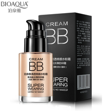 BIOAQUA Makeup Brand Base Face Waterproof Liquid Foundation BB Cream Concealer Moisturizing Whitening Oil-control Cosmetics 30ml