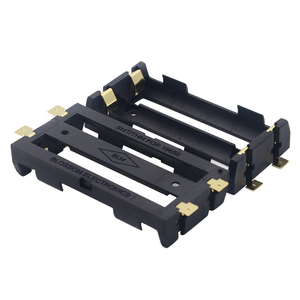 Image 1 - Dual 18650 Battery Cell Holder SMD Bronze Pins Shell Case Box Tab Dual Double