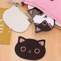 1 Unid Espejo Cosmético Espejo Portátil Mini Espejo de Acrílico Inastillable Chicas Gato de Dibujos Animados de Bolsillo