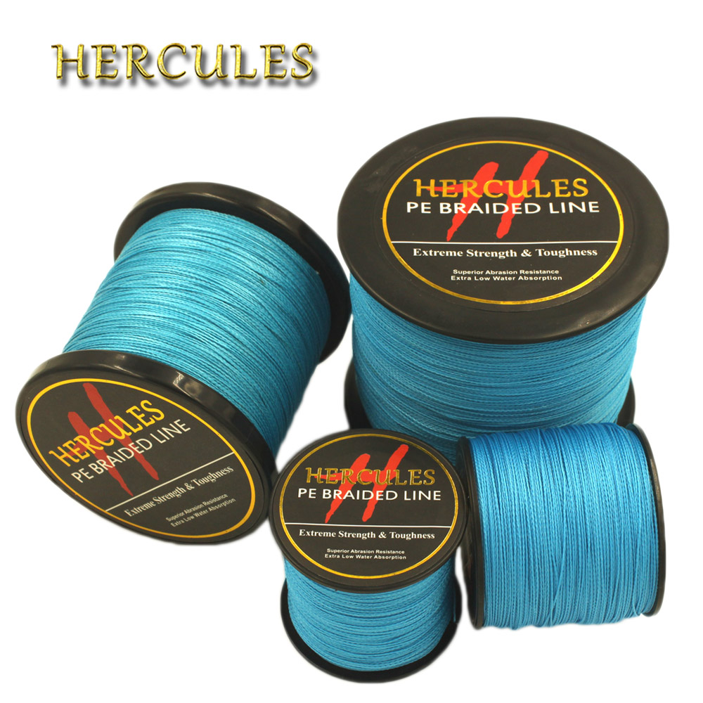 Hercules 4 Strands 100M 300M 500M 1000M 1500M 2000M PE Blue Braided Fishing Line Sea Saltwater Carp Fishing Weave Super Strong парогенератор с утюгом silter super mini 2000m 1литр с манометром