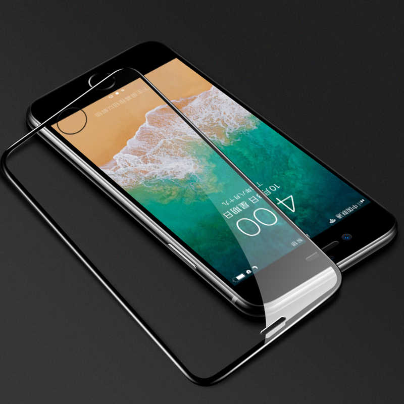 e37547df48c ... Cubierta completa 6D vidrio templado para iPhone 7 8 6 Plus Protector  de pantalla para iPhone ...