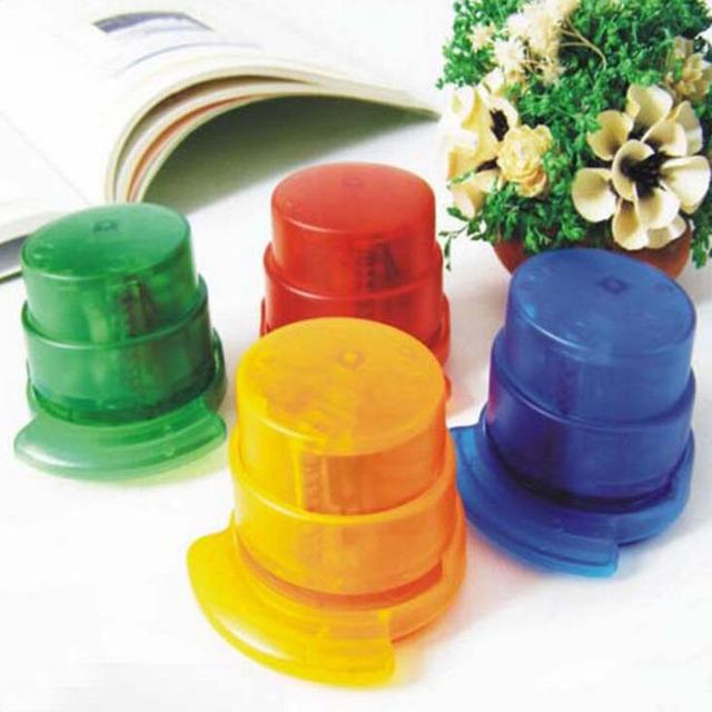 Eco ABS Plastic Staple Free Stapler , Novelty School And Office Stapler Without Staple , Staple-free Stapler