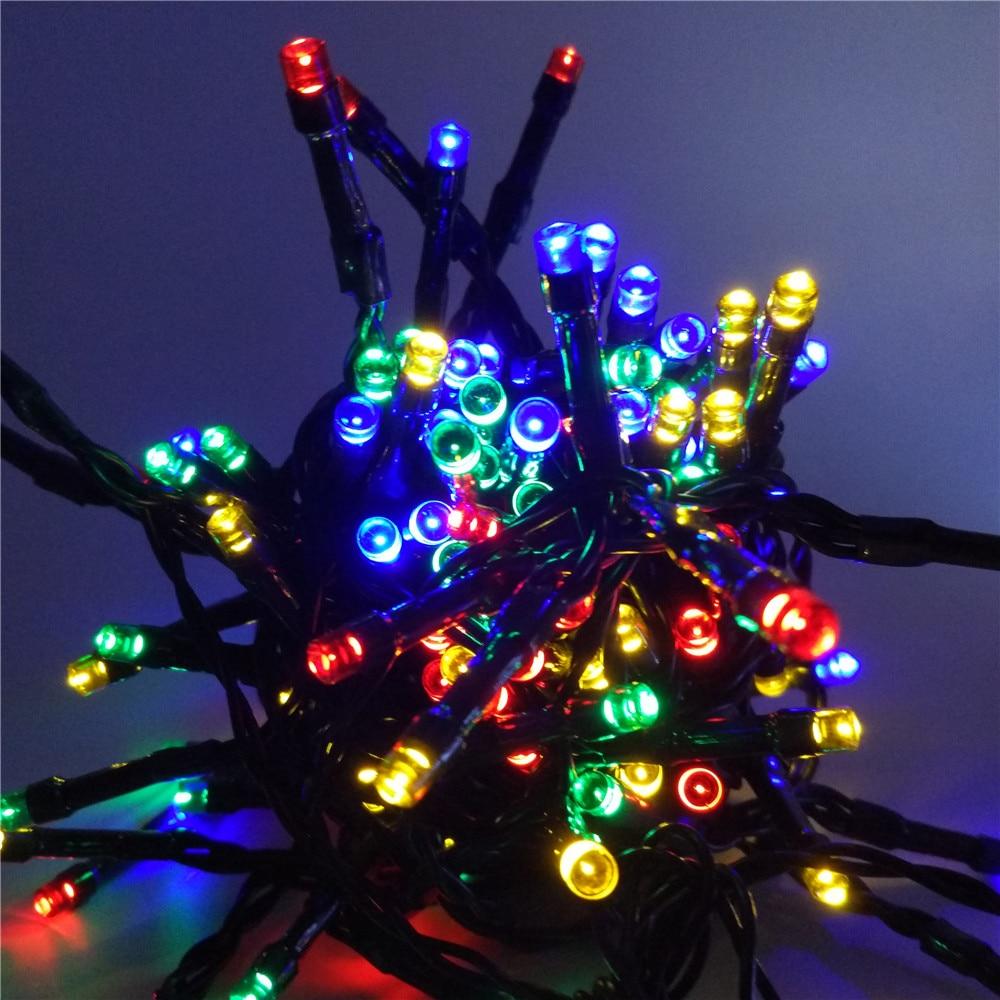 Led La Luz Solar 10m 60 String Lights Christmas Party Decoration Hot