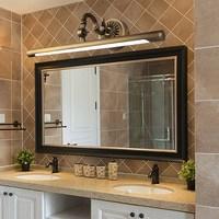 European led wall lamp bathroom lamp copper Mirror headlight Flat mirror light waterproof anti fog moisture proof lamp LU8161415