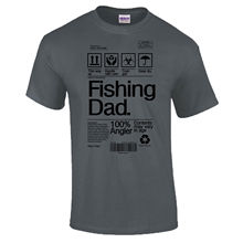 Dad Product Label Fathers Day Grandad Carp Bass Funny Gift T-Shirt New T Shirts Tops Tee Unisex