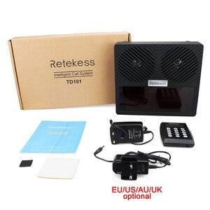 Image 5 - نظام الاستدعاء الذكي للمطاعم Retekess TD101 نظام الاتصال بالباجر النادل للإبلاغ الصوتي لمطعم المقهى البنكي