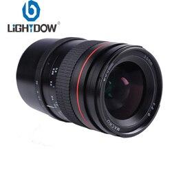 Lightdow 35mm F/2.0 stałej ogniskowej pełne ramki instrukcja aparat obiektyw do Sony E do montażu na A7 A7M2 A7M3 NEX 3 5N 5R 5 T A6500 A6000 A5100