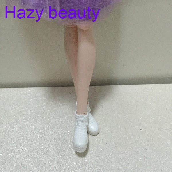 Hazy beauty Casual Flat foot feet Slipper shoes for Barbie Xinyi 1:6 scale Doll Fashion Cute BBI00293