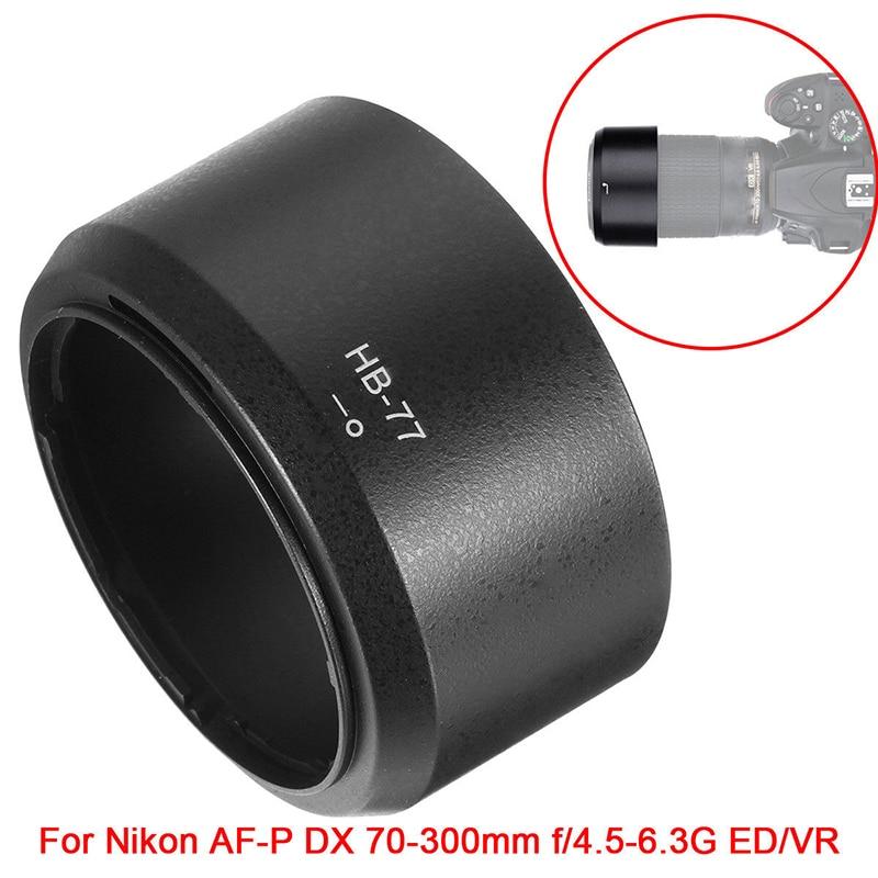 Foleto бленда для объектива камеры, круглая крышка для объектива nikon, nikon, NIKKOR, f/4,5 6,3 г, 70 300 мм, ED/VR, HB 77 HB77|Бленды|   | АлиЭкспресс