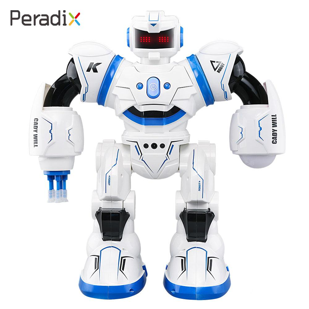 Electronic Robot Model Toys Baby Kids Children RC Toy2.4GHz Multi Mode Control Robot Intelligent Gesture Sensor Dancing Flashing creative kids talking hamster electronic pet toy 1pc