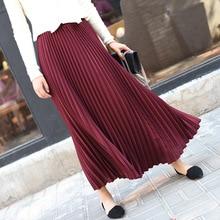 Sherhure 2019 Summer Women Skirt Vintage Long Skirt Saias Hi