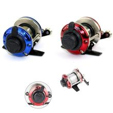 Mini Fishing Reels With 50M Lines Ice Fishing Spinning Reels Metal Feet Reel Rotation Fishing Tackle Vessel Pesca REELS HJ126