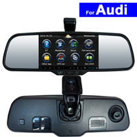 5 Inch אנדרואיד האחורי לרכב צפה במירור DVR GPS Bluetooth WIFI עבור אאודי Q3 Q5 A4L A6L A1 A3 Q7 A8L A5 S5 S6 TT האוטומטי צג