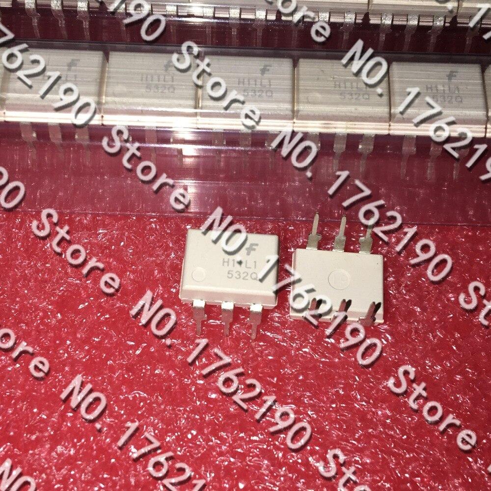 100 шт. /лот H11L1 H11L1M DIP-6 анод триггера Шмитта Оптический Изолятор