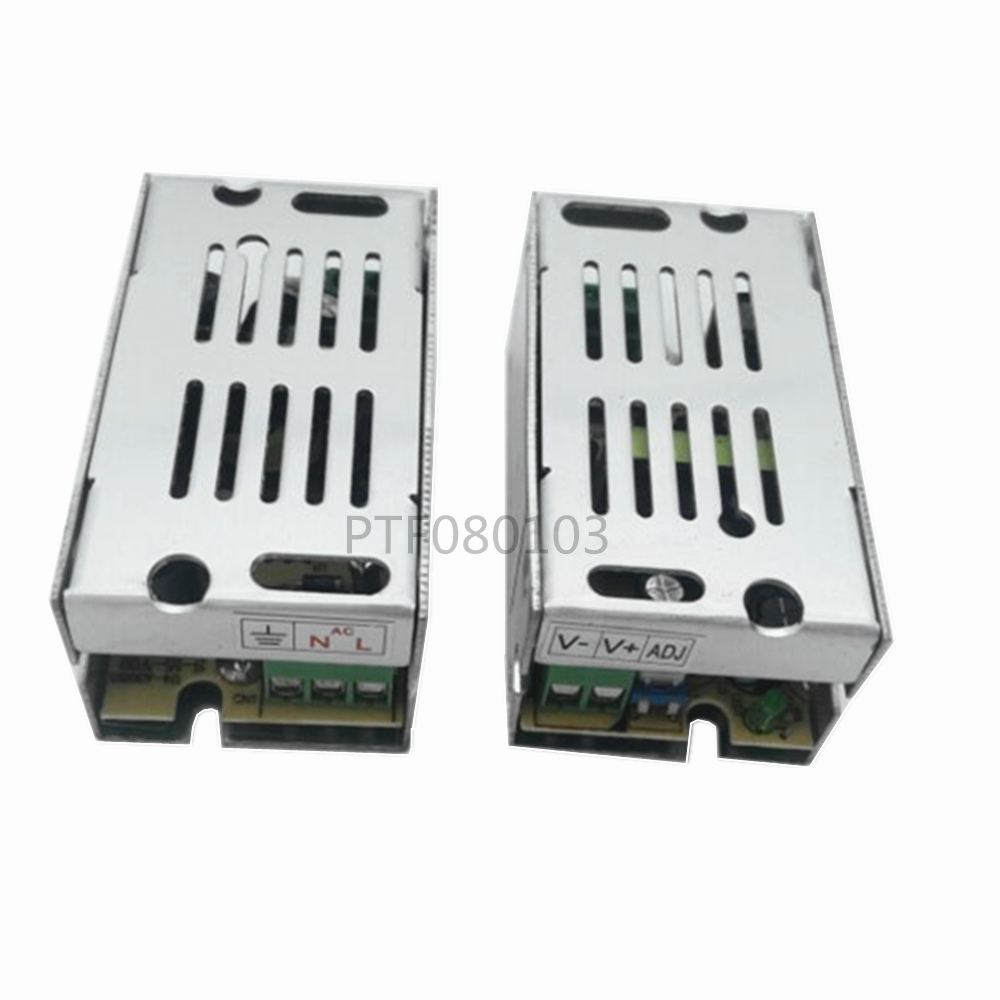 10pcs Factory Directly Sell AC110V-220V TO DC 12V /1.25A 15W Switch Power Supply Driver Adapter LED Strip Light