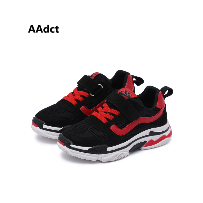 AAdct 2018 running sports children shoes sneakers Mesh breathing girls shoes new fashion ...