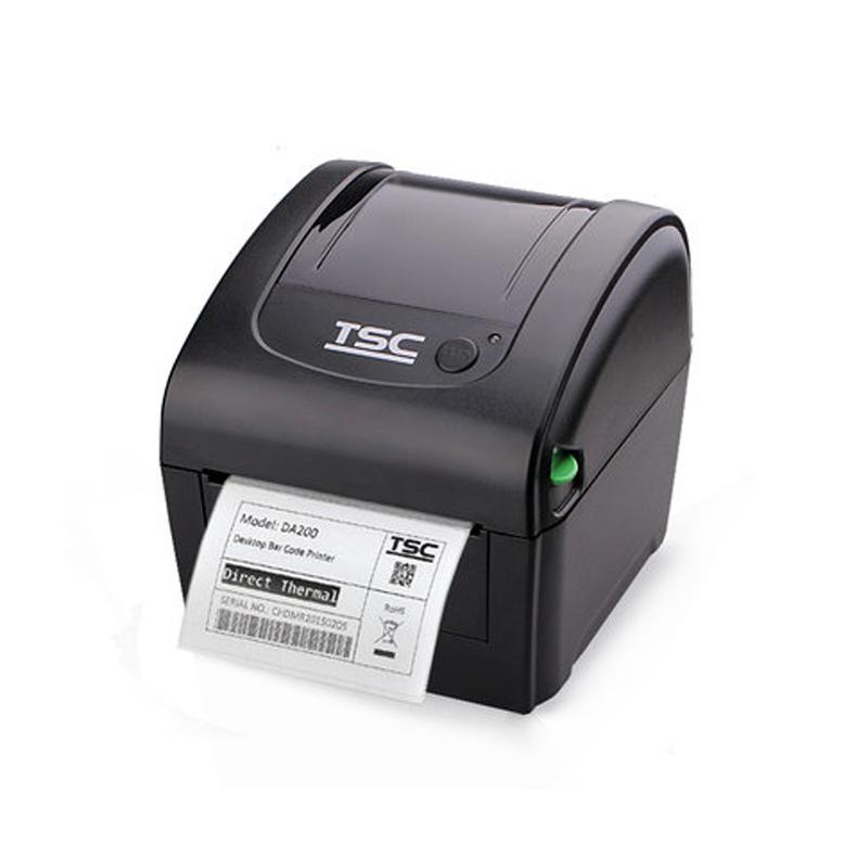 Prix pour Tsc thermique imprimante d'étiquettes da200 spécial pour l'impression 4x6 express facture autocollant étiquette impresora gratuite colis étiquette machine