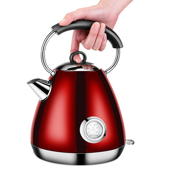 Electric kettle  thick food grade 304 stainless steel import temperature control kettles Safety Auto-Off Function