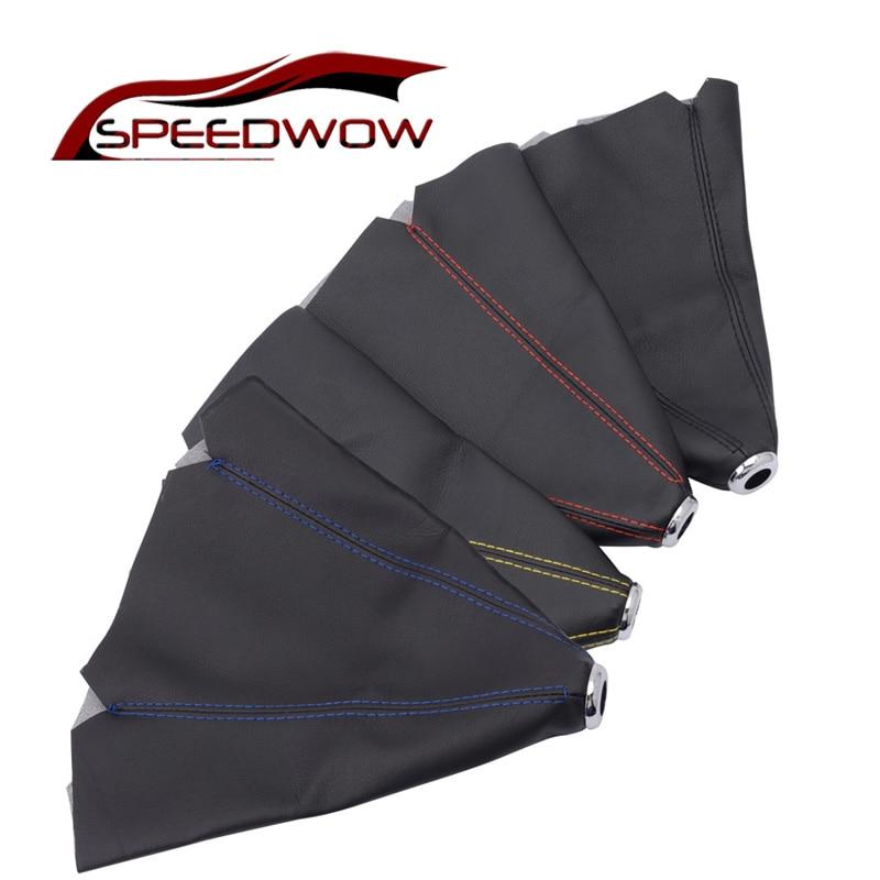SPEEDWOW Car Shift Knob Shifter Boot Cover Gear Shift Collars Car Gear Shift Collars Covers For VW Golf Bora Jetta MK4