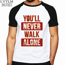 3645e10e LYTLM Liverpool Tee Shirts Vintage Hip Hop T Shirt You'll Never Walk Funny  Shirts