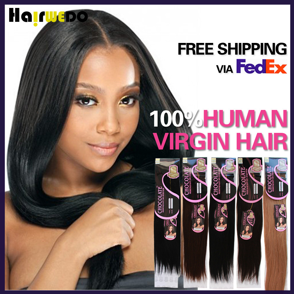 Brand Chocolate Hair 100 Unprocessed 7A Brazilian Virgin