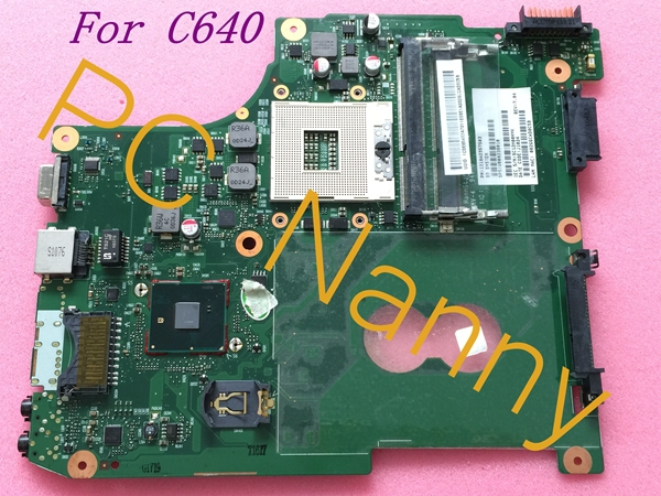 ФОТО For TOSHIBA C640 Intel System Motherboard V000238010 6050A2357502 Hm55 Integrated Working
