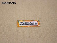 98 Custom Labels Custom Clothing Labels Name Labels White Organic Cotton Iron On TB037