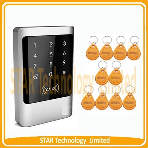 ФОТО Waterproof Security RFID Proximity Entry Door Lock Access Control System+10 Keys