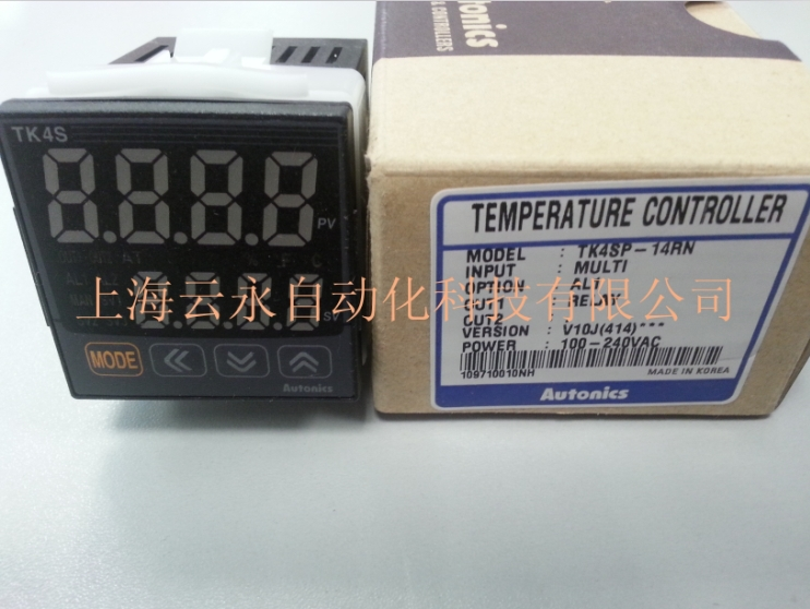 New original authentic TK4SP-14RN Autonics thermostat temperature controller new original authentic cylinder cdq2wb32 30d