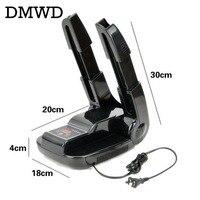 DMWD Timing adjustable Deodorant Sterilization Multifunctional Folding bake shoes socks gloves 220V shoes dryer