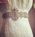 Sparkling diamond luxury wedding dress bow belt girdle waist bride bridesmaid satin ribbon Accessories