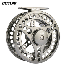 Goture 3/4 5/6 7/8 9/10 Fly Fishing Reel Aluminum Frame Spool Fly Reel Wheel CNC Machine Cut Coil Pesca 3BB 1:1 Fishing Tackle