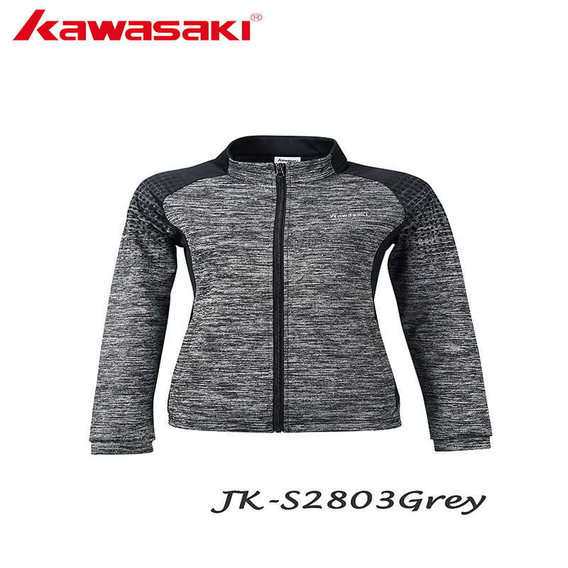 Kawasaki Running Jacket For Women Yoga Zipper Long Sleeve Women Sport Jacket Fitness Ladies Hoodies Sport Women's Cloth JK-S2803