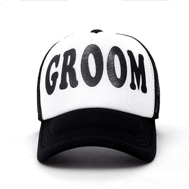 GROOM Black trucker hat 5c64fecf9e2e9